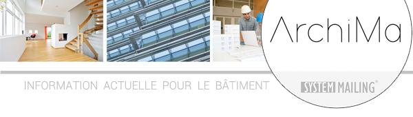 Archima * Information actuelle pour le bâtiment